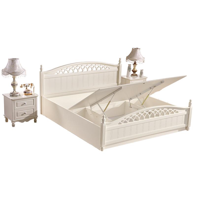 Venta al por mayor diseños de camas en madera modernas-Compre online ...