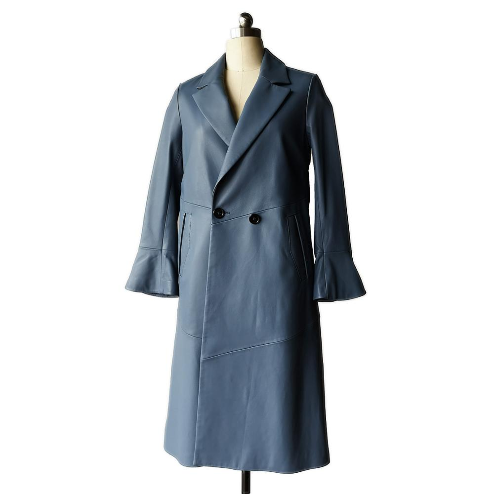 Lasted design <strong>women</strong> <strong>trench</strong> <strong>coat</strong> lamb leather long <strong>coat</strong> <strong>for</strong> <strong>women</strong>