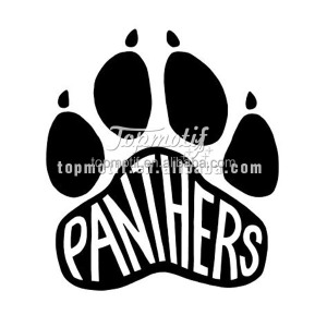 Heat Transfer Garment Printing Panthers Heat Transfer Vinyl For T Shirts