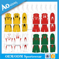 american cool dry basketball team uniform design