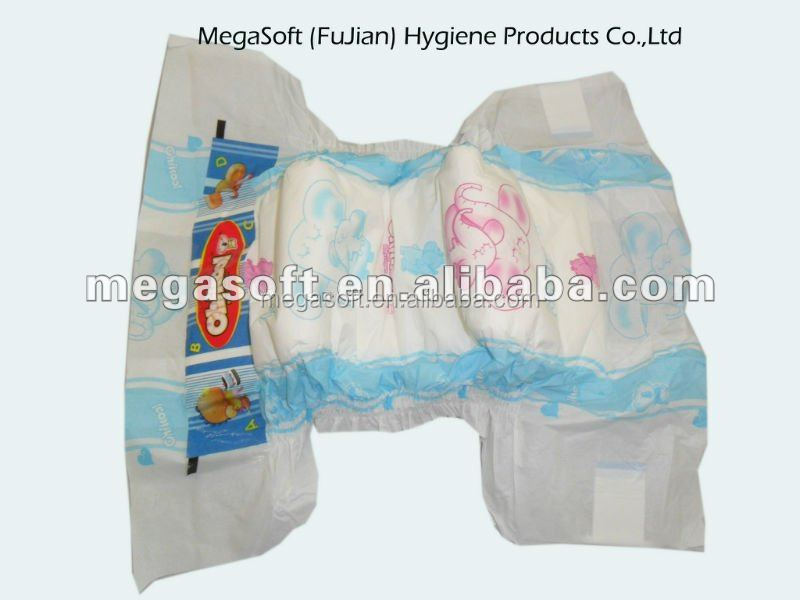 Disposable PP tapes Cloth Like Back Sheet Baby Diaper.