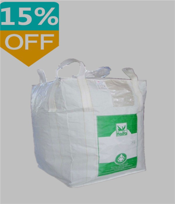 Accept payment by L/C 100% raw material high quality factory price recycling pp big bag