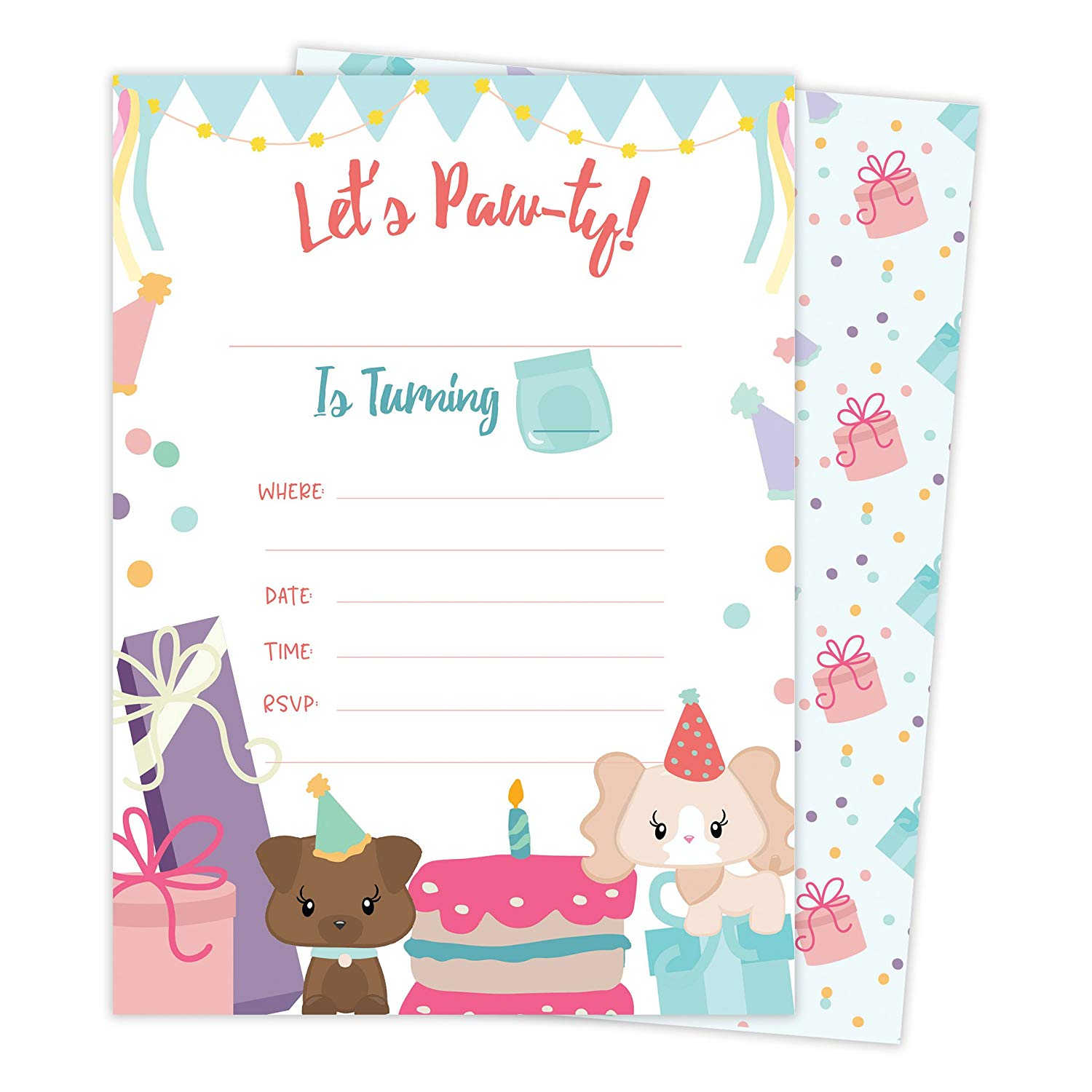 Cheap Party Invitations Girls, find Party Invitations Girls deals on ...