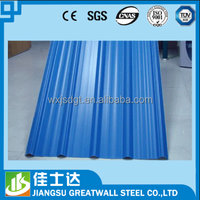 corrugated metal sheets /sheet metal roofing rolls / color coated galvanized tile used
