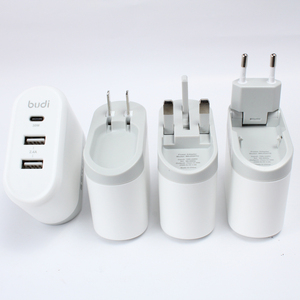 pd wall charger 30w usb-c power adapter Type C Wall Charger with Power Delivery 30w Foldable USA UK EU Plug.AU plug 2 usb output