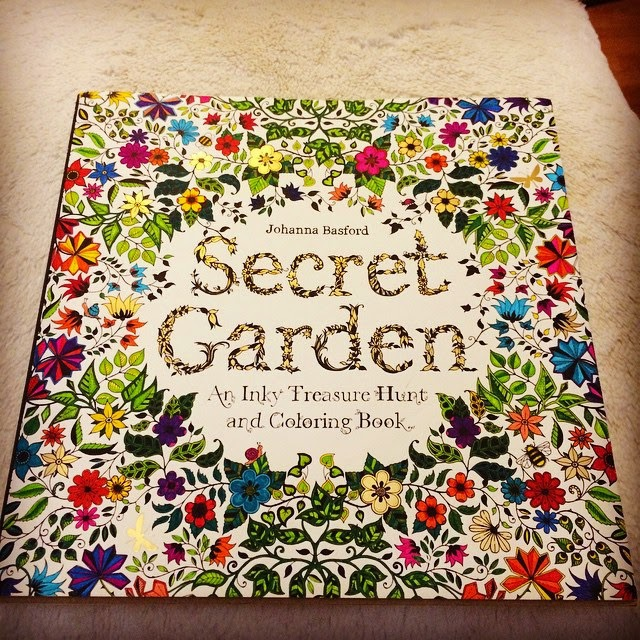 70 Secret Garden Taman Rahasia Coloring Book For Adults