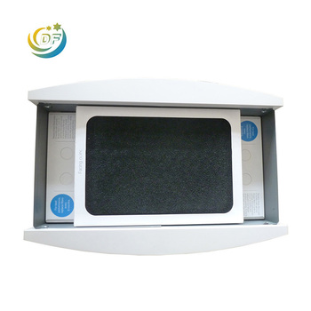 Activated carbon filter for cooker hoods