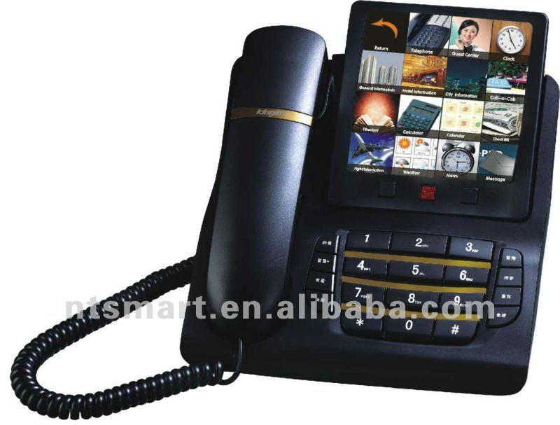 New Telephone Model Color Screen Touch Business Telephone,hotel telephone