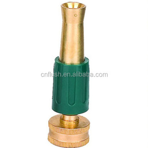 brass garden flat spray nozzle adjustable sprayer