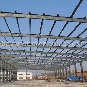 BAORUN low cost portable&durable steel structure workshop made in china