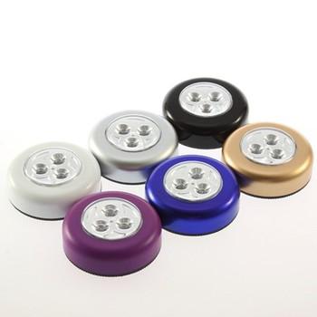 led batterij aangedreven stick tap touch light klem leeslamp draadloze led wandlamp kleine batterij aangedreven led