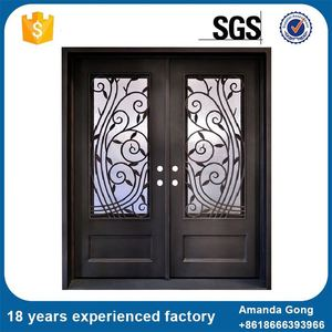 Promotional Flat External Metal Main Door
