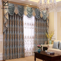 Fancy design Turkish curtains new model window curtain for home