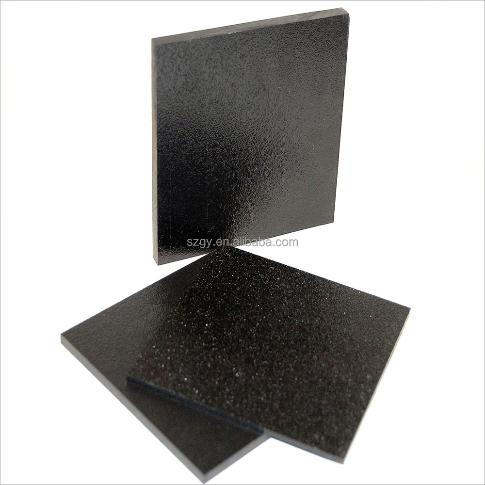 Black Corrugated Plastic ABS Double Color Sheet
