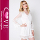 Plus Size Women Sexy White Jumpsuit One Piece Short Casual White Lace Playsuits