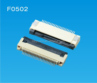 OEM ODM 29 pin UL listed 0.50mm electronic FPC /FFC connetor