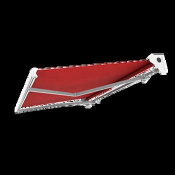 Half Cassette Aluminum Patio Awning Heavy Duty Retractable Arm