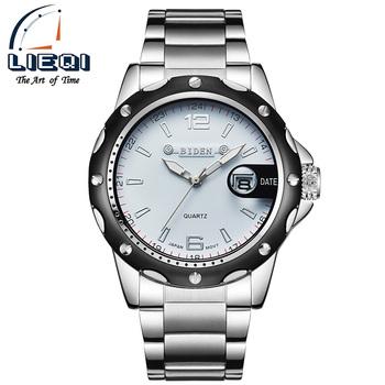 low cost 06025 4f0eb Biden腕時計男性高級ブランドビジネスクォーツ時計用男性鋼腕時計ダイブ30メートルカジュアル時計男性レロジオmasculino - Buy  クォーツ時計男性のため、クリア高級腕時計0、ホット販売カジュアル腕時計用男性 Product on Alibaba.com