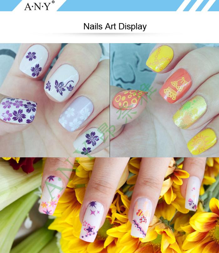 Angnya Professional Golden Color Zjoy Nail Art Stamping Polish 10ml ...