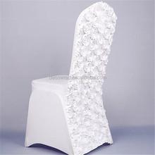 vente chaude pas cher blanc de mariage rosette couverture de chaise - Housses De Chaises Mariage Pas Cher