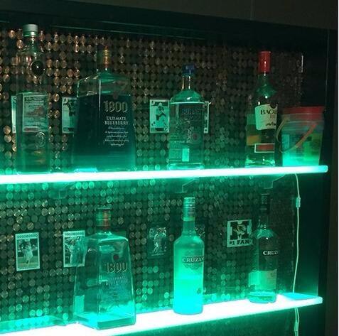 Acrylic Shelf For Wine Display With Wifi Mobile App
