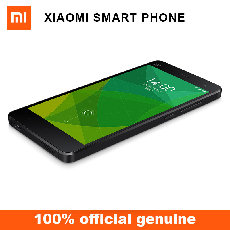 Original mi Mi4 M4 16GB ROM 1920*1080P Mobile Phone with Talk Time 8-10hours
