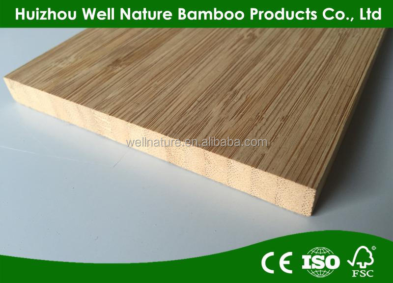 E0 Good quality Bamboo Plywood 12mm 1-ply Vertical Board