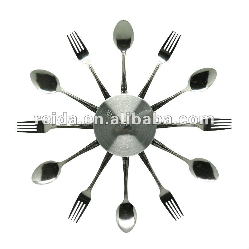 Fork And Spoon Wall Clock Wholesale Wall Clock Suppliers Alibaba
