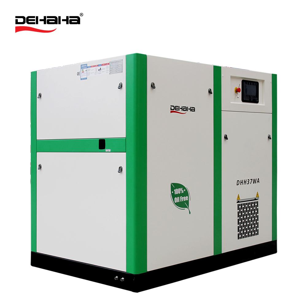 650cfm 110KW 13bar 1.3Mpa food grade olie gratis luchtcompressor