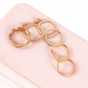 Fashion covered six-set rings female personality suit ring in Europe and US hotselling style in ebay