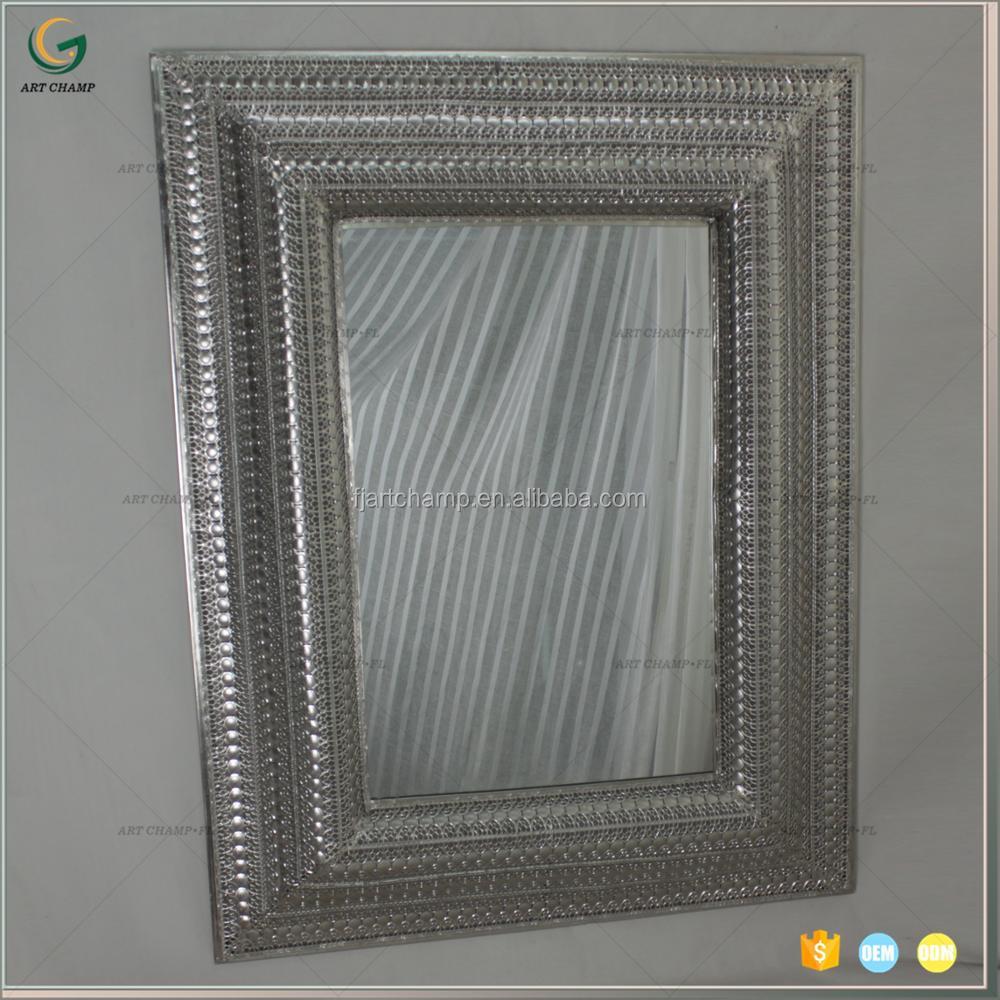 Wrought Iron Design Decorative Wall Mirror, Wrought Iron Design ...