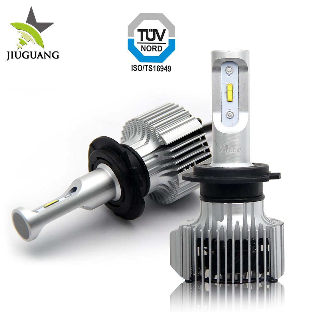 2018 Super bright 4000lm car led light h4, Imported CSP Chip led for motorcycle M1 car led headlight bulb h4
