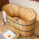 kx-205 Beautiful standing portable wooden color fashion outdoor whirlpool spa bathtub