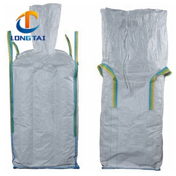 Top fill Skirt PP Jumbo bag Super Sacks Big Bags 1000kg Bags Fibc plastic containers for sand Manufacturer