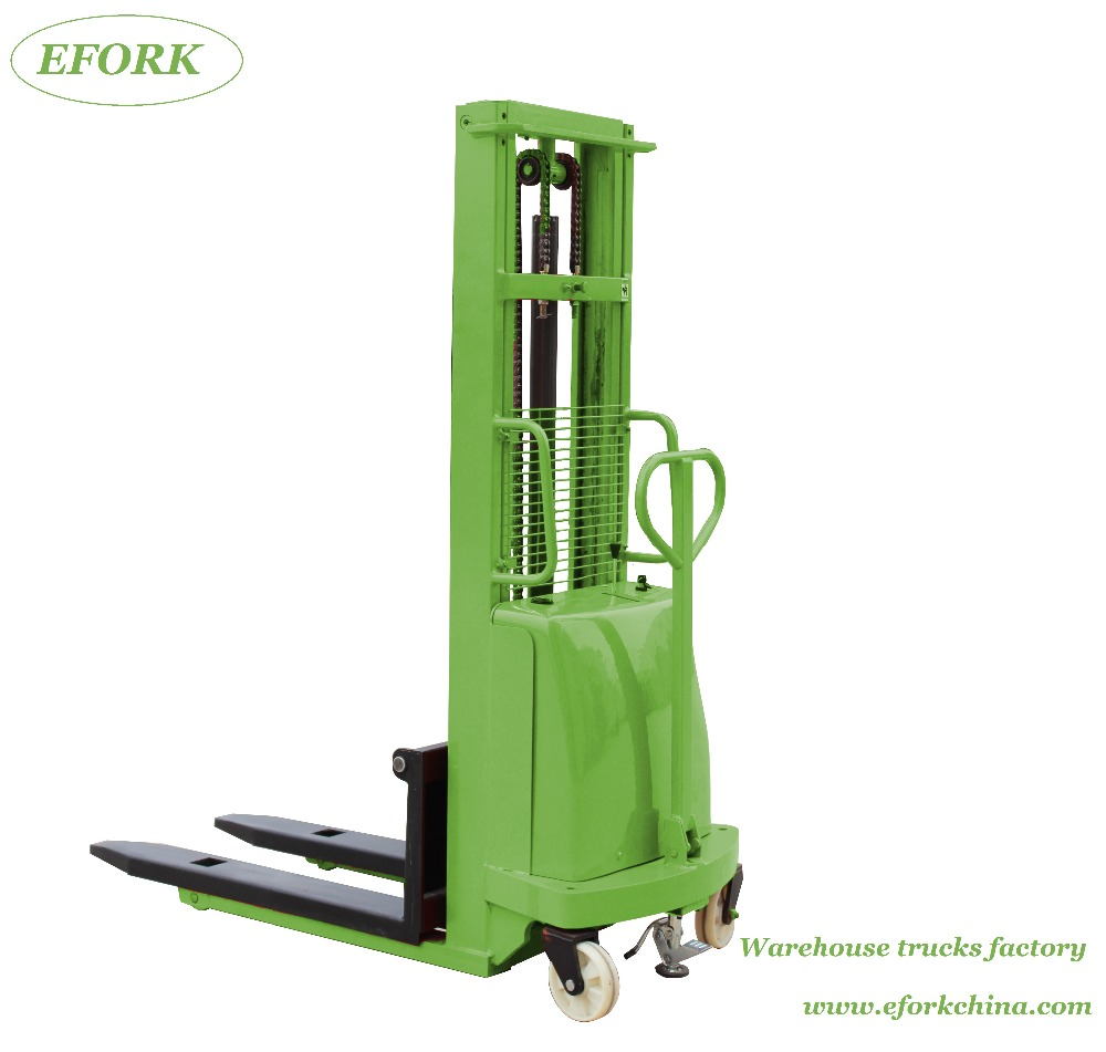 Battery Operated Fork Lift Stacker, Battery Operated Fork Lift ...