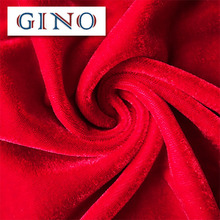 ISO9001 Certified embossed knitted velvet fabric China Factory