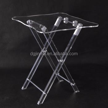 Design De Mode Nouveau Plexiglas Chaise Pliante