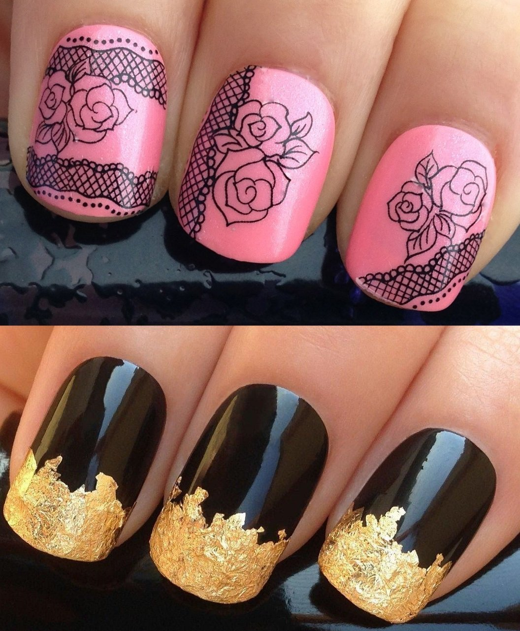 Cheap Gold Nail Designs For Acrylic Nails, find Gold Nail Designs ...
