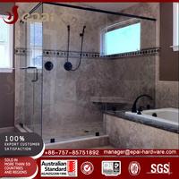 Factory price simple frameless bathroom design