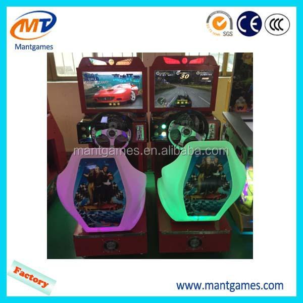 Arcade Amusement Machine Video Game Console Simulator Driving Car ...