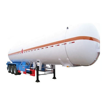 56100 liters 24ton LPG fuel tank semi trailer for sale