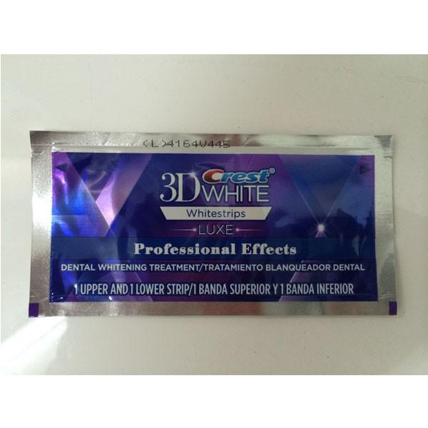 Crest 3d white teeth Whitestrips Professional effect 1 box 20 Pouches Original Oral Hygiene Teeth Whitening strips crest
