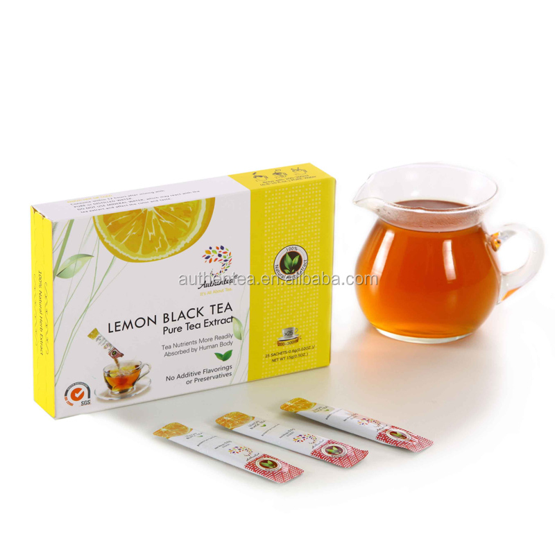 OEM Weight Loss Instant Lemon Tea Powder with Premium Quality