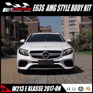 ALL NEW E63s AM-G bodykit for W213 E CLASS E200 E300 E400 PP MATERIAL  UPGRADE KIT FOR 2017-ON