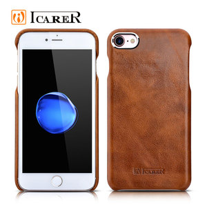 Real Leather Mobile Phone Back Cover Case for Apple for iPhone 7 7 plus 4.7 5.5 inch