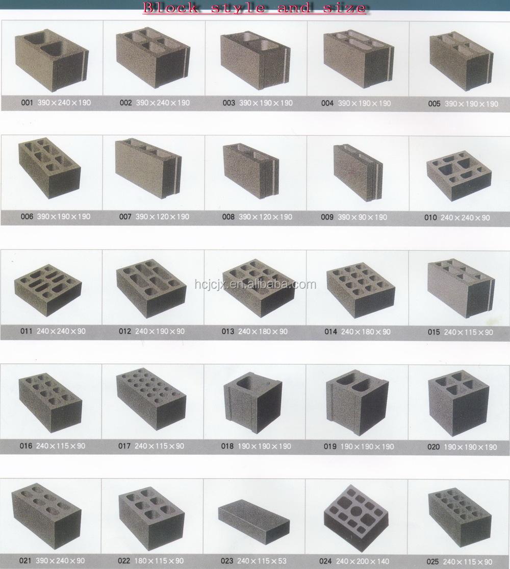 high qtj435 retaining wall blocks