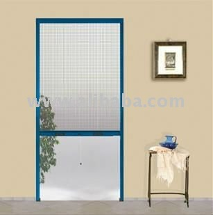 Mosquito fly roll up screen for doors buy roll up fly for Roll up insect screens for windows