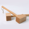 Professional Double-sided Meat Pounder/Hammer Wood Meat Tenderizer Tool