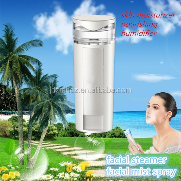 Office using skin care deep moisturizer facial steamer handheld beauty device