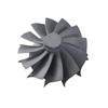 custom made investment casting/stainless steel casting turbo impeller